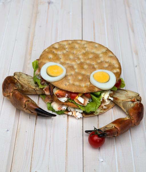 Club sandwich polaire au crabe
