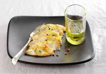 Carpaccio de Haddock - © Cooklook