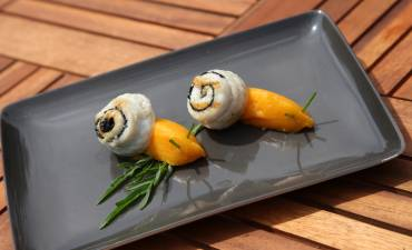 Escargot de sole en brochette - © 750g